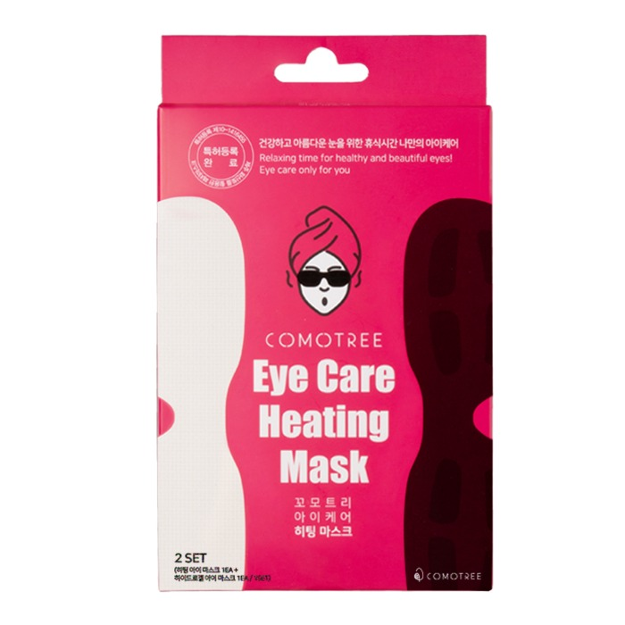 Mặt nạ nhiệt cho mắt 2 trong 1 Comotree Eye Care Heating Mask